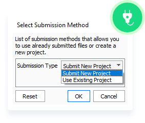 Select Submit